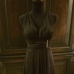 Roman style evening dress
